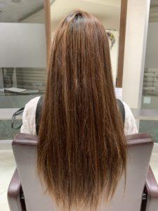 Aujuaで髪質改善!!