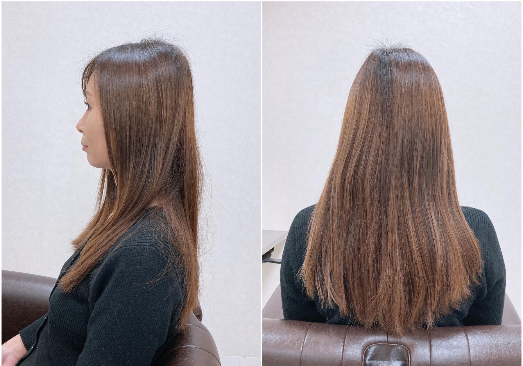 THE ツヤ髪ロングヘア THE 巻き髪ロングヘア
