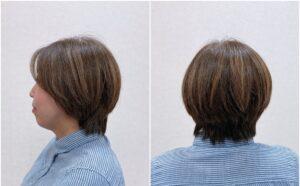 大人女性に似合うカジュアルショートヘア