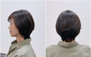 大人女性の為のスタイリッシュショートヘア