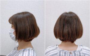 梅雨の季節、縮毛矯正で艶髪を