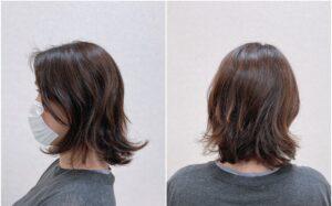 夏に流行るヘアスタイル くびれボブ